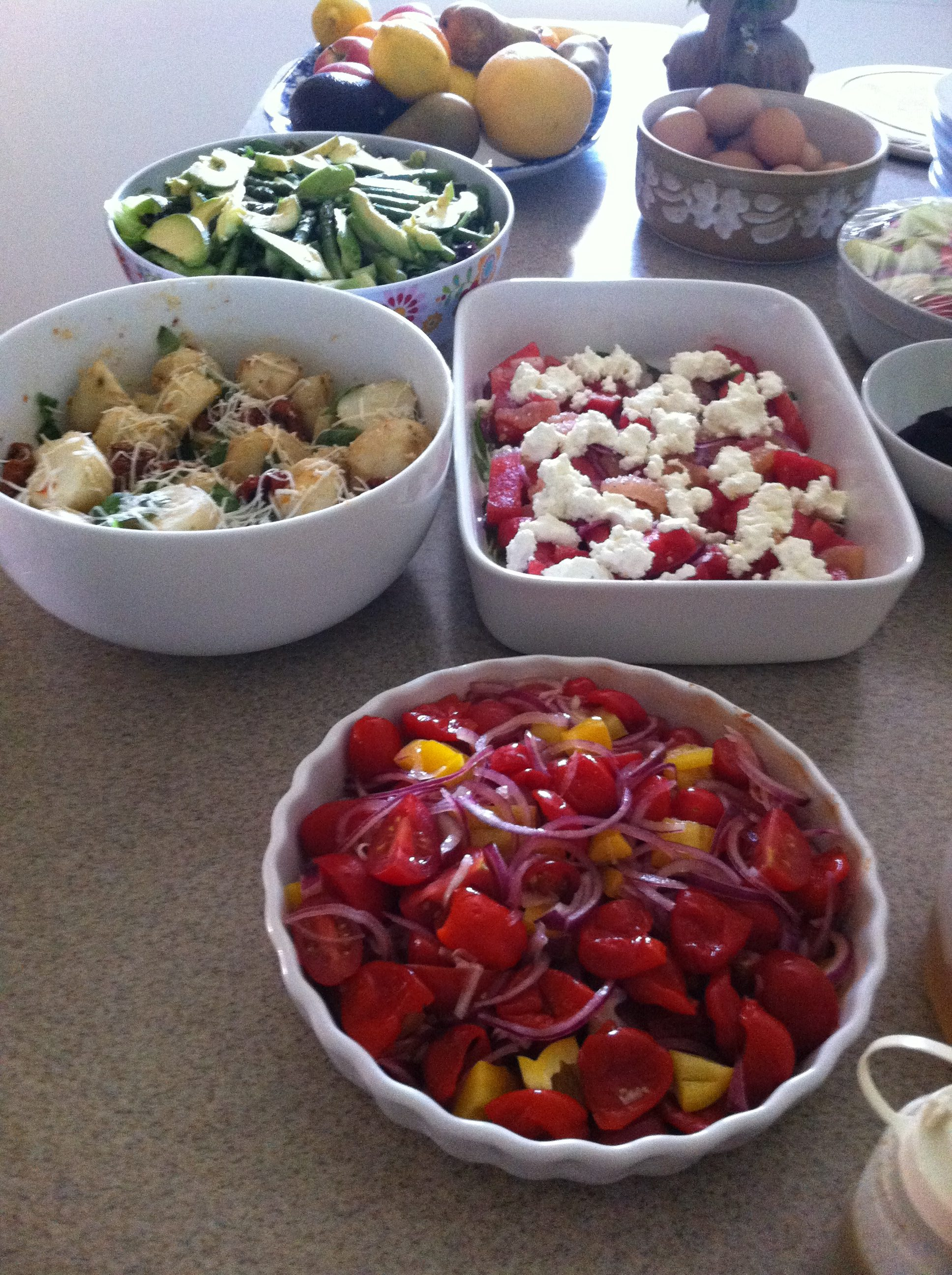 food healthy nourishing retreat