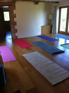 yoga mats retreat relax health