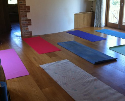 yoga mats retreat relax health